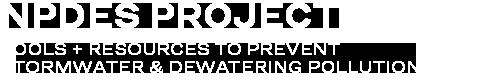 NPDES Tools & Resources Logo